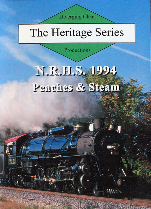 NRHS 1994 Peaches & Steam DVD Train Video Diverging Clear Productions DC-1994
