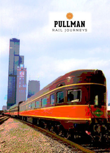 Pullman Rail Journeys - Rebirth of an American Legend DVD Diverging Clear Productions DC-PULL
