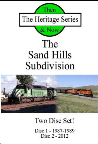 Sand Hills Sub Then and Now 2 Disc DVD Heritage Series Train Video Diverging Clear Productions DV-SHS