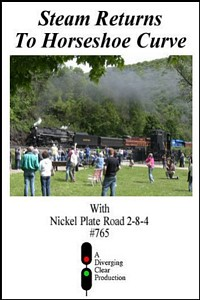 Steam Returns to Horseshoe Curve DVD