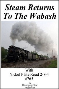 Steam Returns to the Wabash DVD