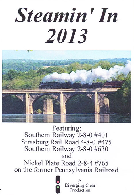 Steamin in 2013 DVD Diverging Clear Productions DC-S2013