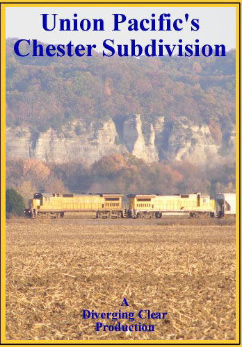 Union Pacifics Chester Subdivision DVD Train Video Diverging Clear Productions DC-CD