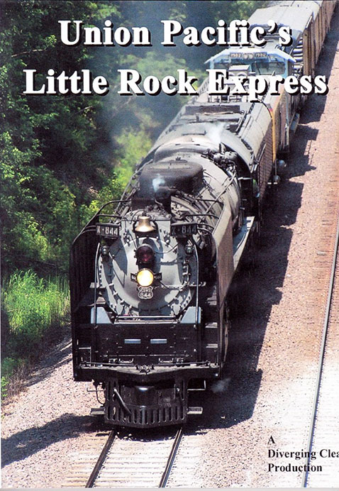 Union Pacifics Little Rock Express DVD Diverging Clear Productions DC-LRE