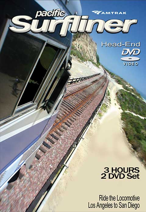 Pacific Surfliner Head-End Cab Ride (2 DVDs) Facing Point Media FPMPS10 804879112099