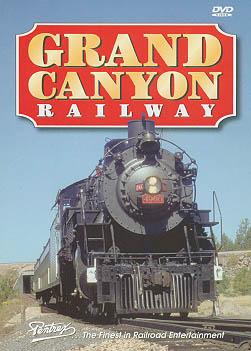 Grand Canyon Railway DVD Train Video Pentrex GCRY-DVD 748268004537