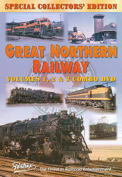 Great Northern Railway Combo DVD Train Video Pentrex GNR-DVD 748268004469