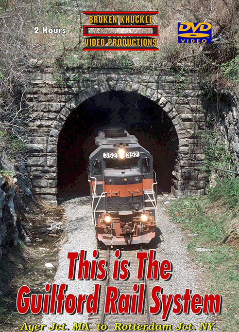 This is the Guilford Rail System DVD Broken Knuckle Video Productions BKTIGRS-DVD