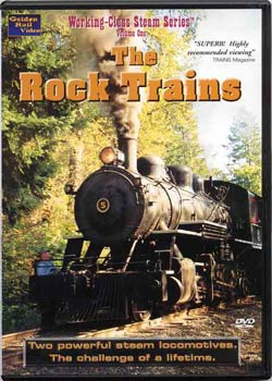 The Rock Trains on DVD by Golden Rail Video Train Video Golden Rail Video GRV-RT 618404000429