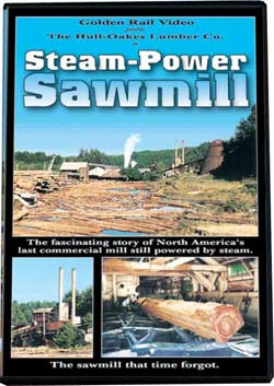 Steam Power Sawmill on DVD by Golden Rail Video Train Video Golden Rail Video GRV-SPS 618404000122
