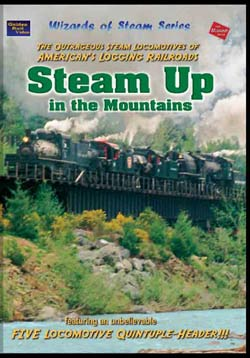 Steam Up in the Mountains on DVD by Golden Rails Video Golden Rail Video GRV-SU 618404001020