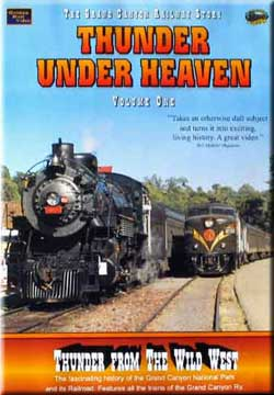 Thunder Under Heaven Vol 1 - Thunder From the Wild West on DVD by Golden Rail Video Train Video Golden Rail Video GRV-T1 618404000825
