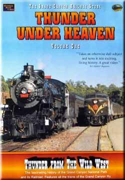 Thunder Under Heaven Vol 1 - Thunder From the Wild West on DVD by Golden Rail Video Golden Rail Video GRV-T1 618404000825