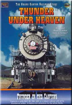 Thunder Under Heaven Vol 2 - Thunder in the Canyons on DVD by Golden Rail Video Golden Rail Video GRV-T2 618404000924