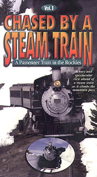 Chased by a Steam Train Vol 1 - Greg Scholl Video Productions Greg Scholl Video Productions GSVP-101