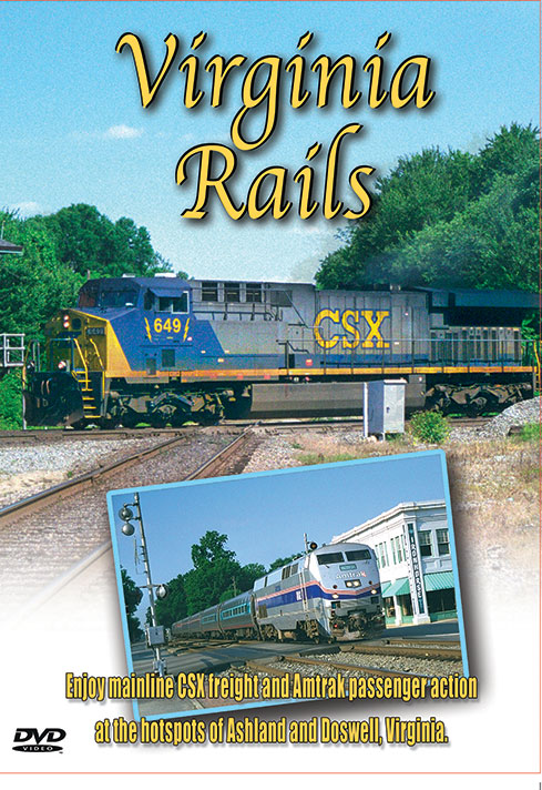 Virginia Rails - Greg Scholl Video Productions Train Video Greg Scholl Video Productions GSVP-118 604435011893