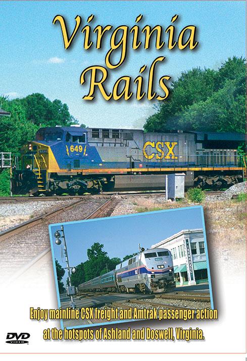 Virginia Rails - Greg Scholl Video Productions Greg Scholl Video Productions GSVP-118 604435011893
