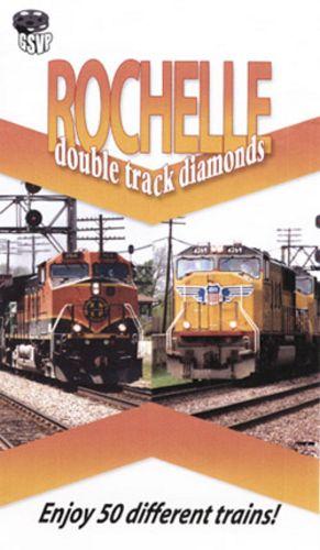 Rochelle Double Track Diamonds - Greg Scholl Train Video Greg Scholl Video Productions GSVP-126 604435012692