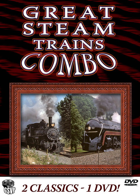 Great Steam Trains Combo - Greg Scholl Video Productions Greg Scholl Video Productions GSVP-134 604435013491