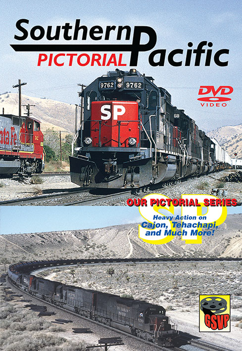 Southern Pacific Pictorial on DVD by Greg Scholl Train Video Greg Scholl Video Productions GSVP-137 604435013798
