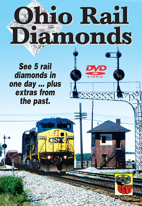 Ohio Rail Diamonds on DVD by Greg Scholl Train Video Greg Scholl Video Productions GSVP-143 604435014399