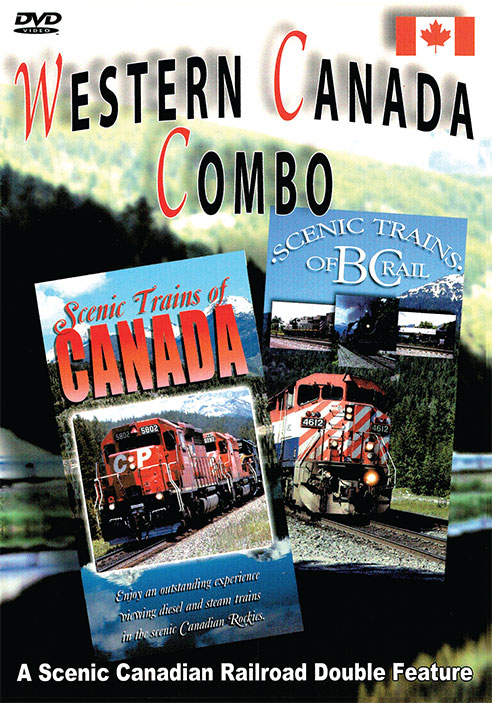 Western Canada Combo - Greg Scholl Video Productions Train Video Greg Scholl Video Productions GSVP-16 604435012593