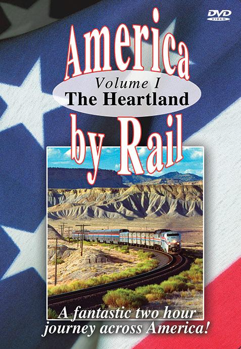 America By Rail -The Heartland - Greg Scholl Video Productions Train Video Greg Scholl Video Productions GSVP-18 604435014498