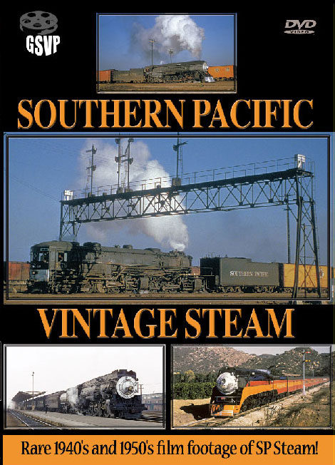 Southern Pacific Vintage Steam - Greg Scholl Video Productions Train Video Greg Scholl Video Productions GSVP-20 604435013392