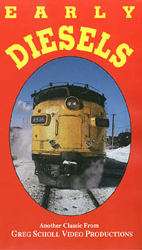 Early Diesels Vol1 - Greg Scholl Video Productions Greg Scholl Video Productions GSVP-32