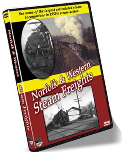 Norfolk & Western Steam Freights - Greg Scholl Video Productions Train Video Greg Scholl Video Productions GSVP-5 604435012791