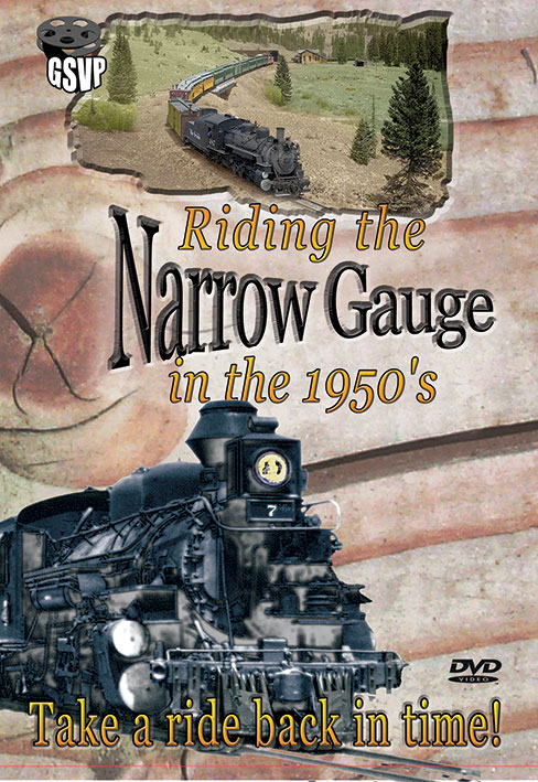 Riding the Narrow Gauge in the 1950s - Greg Scholl Video Productions Greg Scholl Video Productions GSVP-6 604435012494