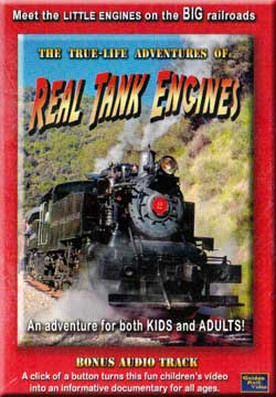 True Life Adventures of Real Tank Engines by Golden Rails Golden Rail Video GRV-RTE 618404001167