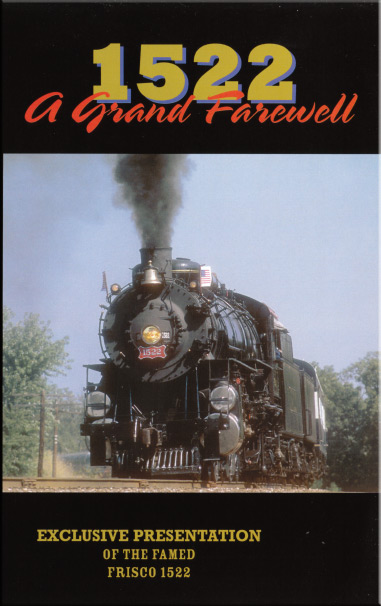 1522 A Grand Farewell DVD Train Video Goodheart Productions 1522-FAREWELL-DVD