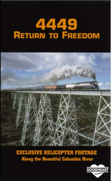 4449 Return to Freedom DVD Train Video Goodheart Productions 4449-FREEDOM-DVD