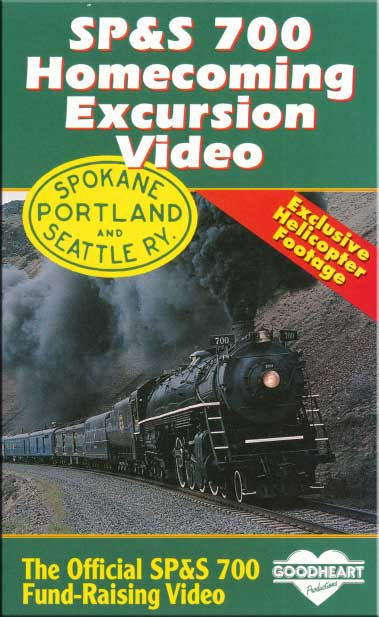 SP&S 700 Homecoming Excursion Video DVD Goodheart Productions 700-HOME-DVD