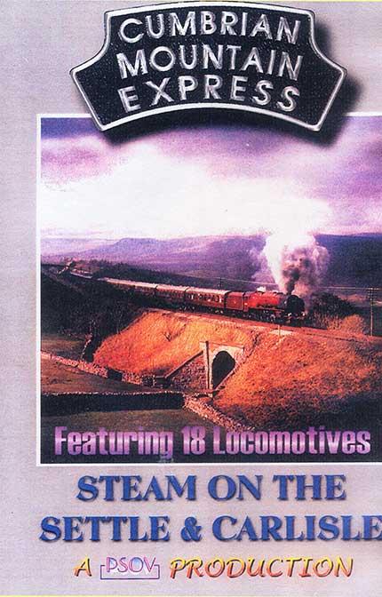 Cumbrian Mountain Express Steam on the Settle & Carlisle DVD Goodheart Productions UK-CUMBRIAN-DVD