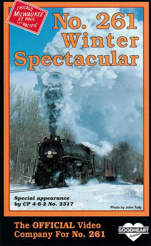 261 Winter Spectacular DVD Train Video Goodheart Productions GH-261WS