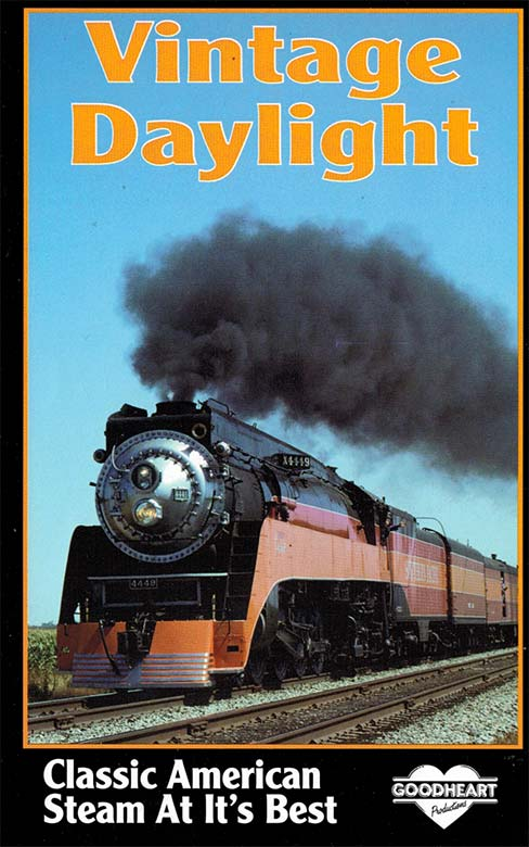 Vintage Daylight DVD Train Video Goodheart Productions GH-VD