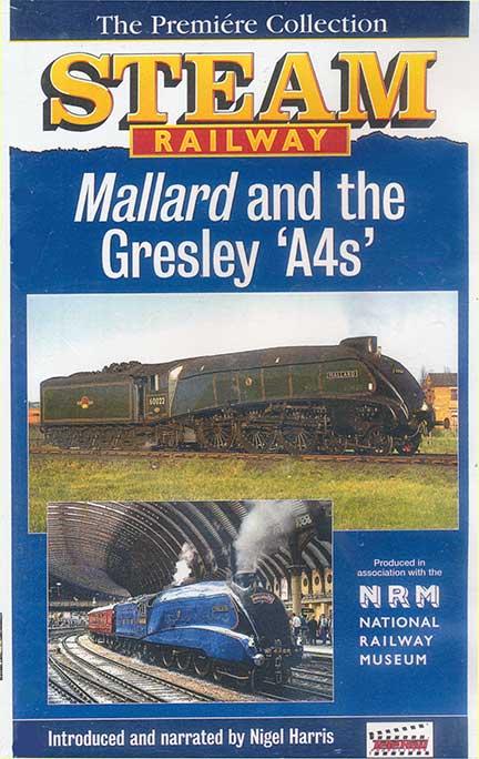 Mallard and the Gresley A4s DVD Goodheart Productions UK-MALLARD-DVD 5019399103266