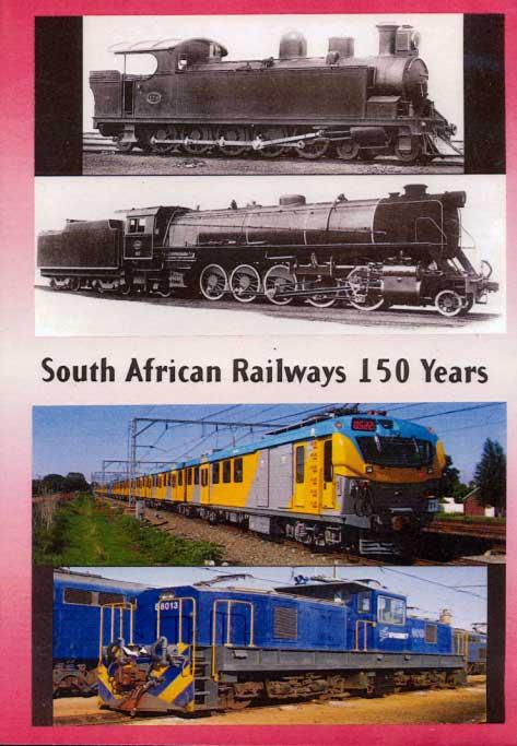 South African Railways 150 Years 2 Disc DVD Goodheart Productions SAR-150