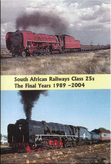South African Railways Class 25s Final Years 1989-2004 2 DVD Set Train Video Goodheart Productions SAR-CLASS-25s-DVD