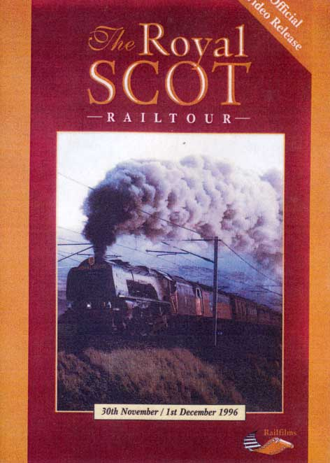 The Royal Scot Railtour DVD Goodheart Productions UK-ROYAL