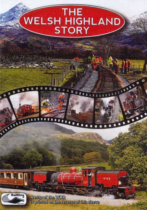 Welsh Highland Story DVD Goodheart Productions UK-WELSH