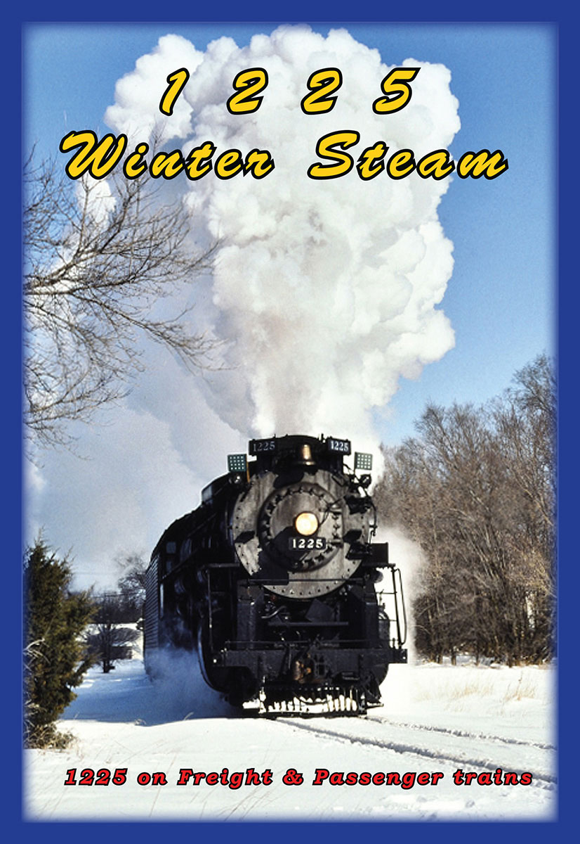 1225 Winter Steam DVD Greg Scholl Video Productions GSVP-193 604435019394