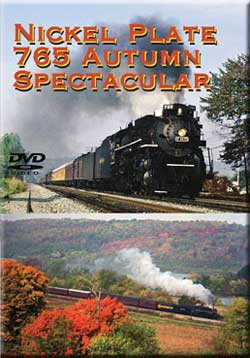 Nickel Plate 765 Autumn Spectacular Train Video Greg Scholl Video Productions 765AUTUMN