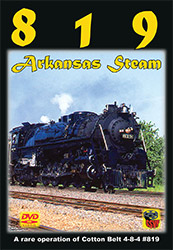 819 Arkansas Steam DVD