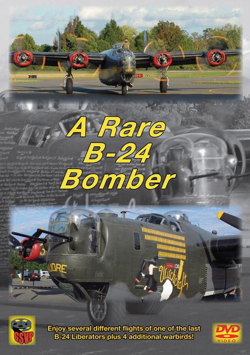 A Rare B-24 Bomber DVD Greg Scholl Video Productions GSVP-514A 604435051493