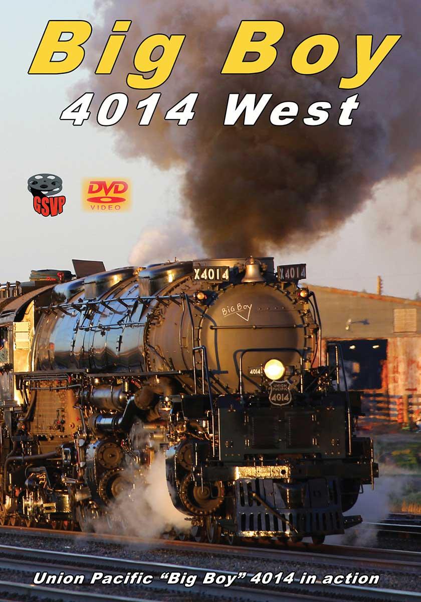 Big Boy 4014 West DVD Greg Scholl Video Productions BB4014WD
