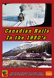Canadian Rails in the 1950s DVD