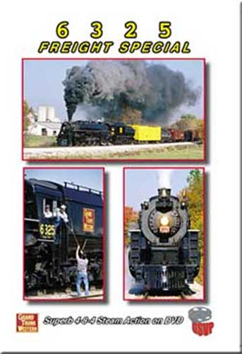 6325 Freight Special DVD Train Video Greg Scholl Video Productions GSVP-010 604435001092